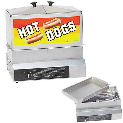 Hot Dog Steamer Demon, Herstellung von Hot Dogs, Funfood