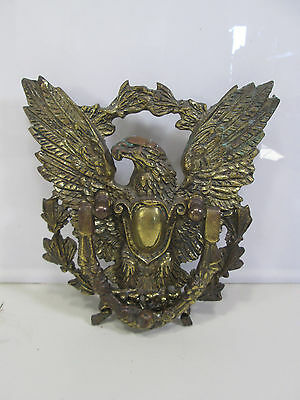 Vintage Solid Brass Eagle Door Knocker 9.5""