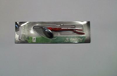 red  flying C lure for  Salmon Trout Bass Sea Trout Spinners