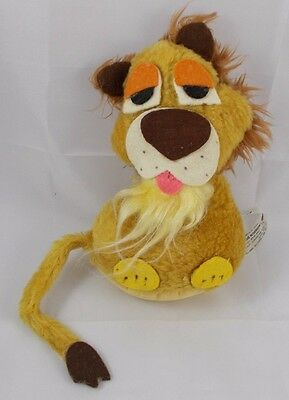 1975 Wallace Berrie LEROY Lion Plush 7""