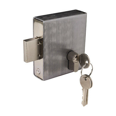 Weld In Gate Lock Double Throw Dead Lock To Suit 30x30mm Box Section - DL30
