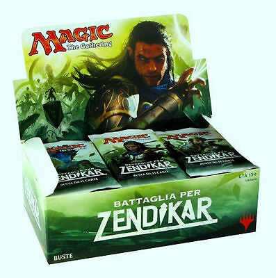 MAGIC: 1 BOX BATTAGLIA PER ZENDIKAR in ITALIANO
