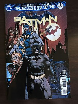 Batman #1 (1st Print Regular Cover) 2016 Series DC Universe Rebirth