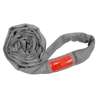 18Ft Endless Gray Round Sling 32000LB Vertical
