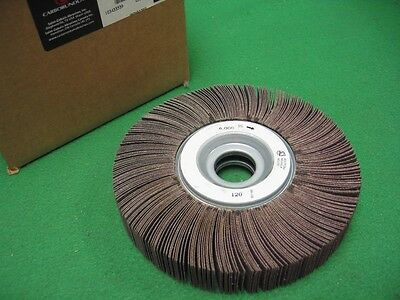 "5/"" x 1.5/"" DMC ZK120 Grit Abrasive Flap Brush Wheel Sander 1//2/"" Bore 12TPI Drill"