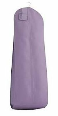 Violet Breathable Cloth Wedding Gown Dress Garment Bag