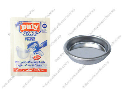 Blind Basket Puly Caff Cleaner Cleaning Powder Gaggia Classic Coffee Machine