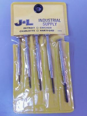 JEWELER'S  SCREW DRIVER SET / 5 PIECE SET / LOT OF 12 SETS (60 Pieces)