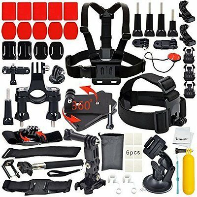 *NEW* DELUXE 40 Piece GoPro Camera Accessories Kit Bundle GoPro HERO 4/3+/3/2/1