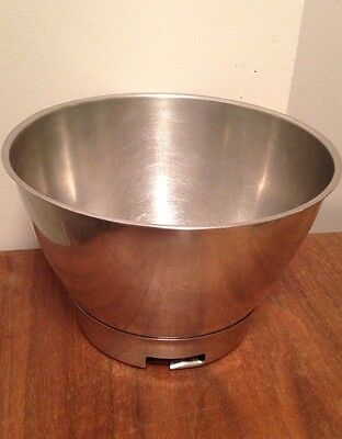 Kenwood Chef A700D Mixer Mixing Bowl Vintage Stainless Steel 1959