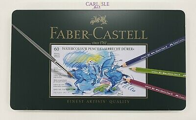Faber-Castell Albrecht Dürer Watercolor Pencils, Tin of 60