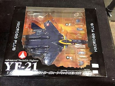 Macross Plus YF-21 1/72 Scale Valkyrie Transforming Toy w/Fast Pack NEW YAMATO