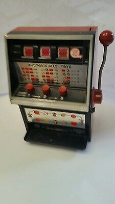 Vintage 1974 WACO Toy Slot Machine. Japan