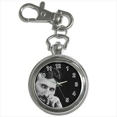 Nikola Tesla Pocket Watch Keychain