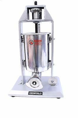 NEW Economy Churro Maker Machine 5LB Stainless Cylinder Two Plate Adapters