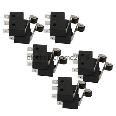 10pcs Tact Switch KW11-3Z 5A 250V Microswitch 3PIN Roller Lever