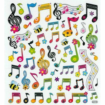 Aim Music Motivational Stationery Gift Musical Instrument's Decoration Stickers