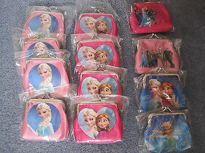 frozen purse coin purse wallet NEW 8 designs to choose party supplies