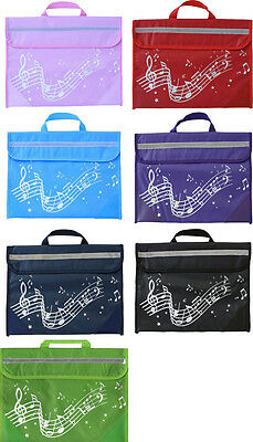 Musicwear Wavy Stave Musical Instrument Tidy Music Easy Fastening Musician Bag