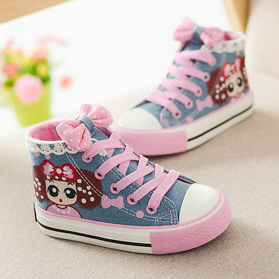 NEW Toddler Children Kids Girl Sports Sneakers Casual Shoes