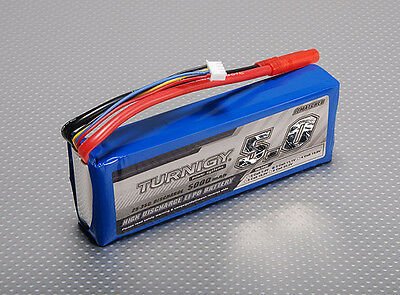 RC Turnigy 5000mAh 3S 25C Lipo Pack