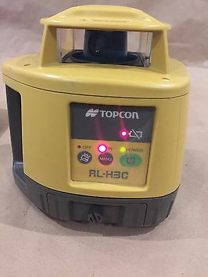 Topcon Rl-H3C Self Leveling Roto Laser With Ls-80B Receiver