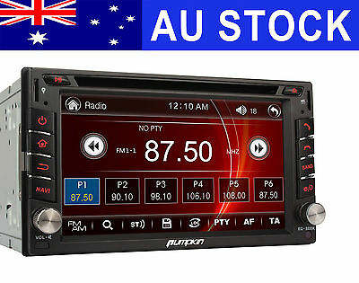 "6.2 "" 2 DIN Car Stereo DVD Player GPS Bluetooth Navigation TouchScreen Radio RDS"