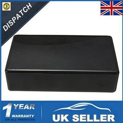 (100 x 60 x 25mm) ABS Black Plastic Electronics Project Box Enclosure Hobby Case