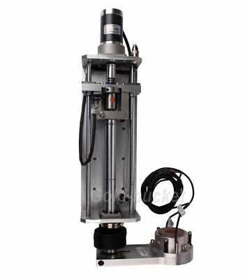 Flame Plasma 150mm Stroke Z-axis Torch Lifter+Anti-collision Clamp For CNC THC