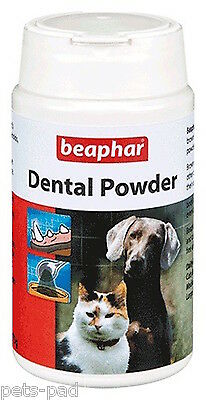 Beaphar Dental Powder for Dogs & Cats , Fights Tooth Decay, 100% Brown Seaweed