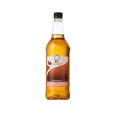 Sweetbird Syrup Toasted Marshmallow Flavour - 1 Litre Bottle