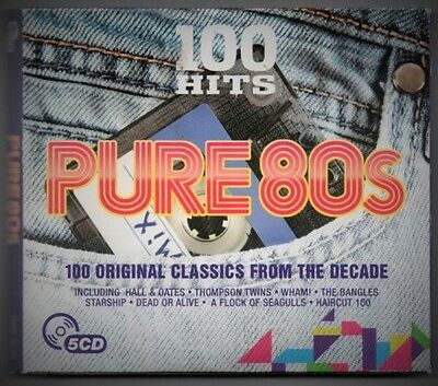 Pure 80S - 100 Hits Original Classic From The Decade - 5 Cd - 0654378716522