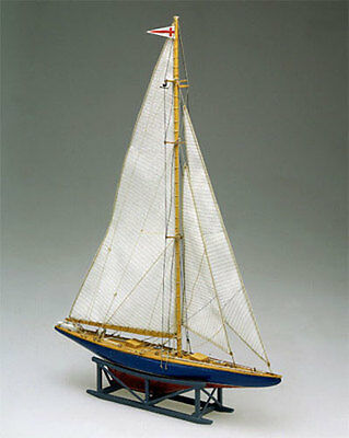 MAMOLI ENDEAVOUR II yacht J wood ship scale model kit