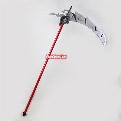 """Anime RWBY Qrow Branwen Scythe Weapon Cosplay Prop PVC Collection Accessory 70"""""""