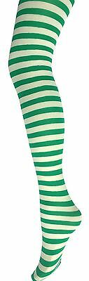 Children's Stripe Tights-6-14 Years-Kids Stripe Tights-Halloween/Fancy Dress