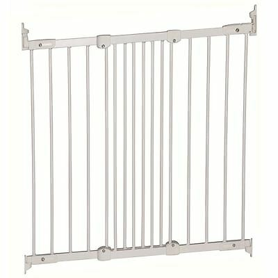 Safetots Multi Fit Baby Safety Stair Gate - Diagonal Fit Wide Baby Gate