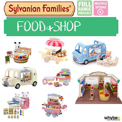 Sylvanian Families Food & Shop Theme Sets Range Choose Your Set Brand New