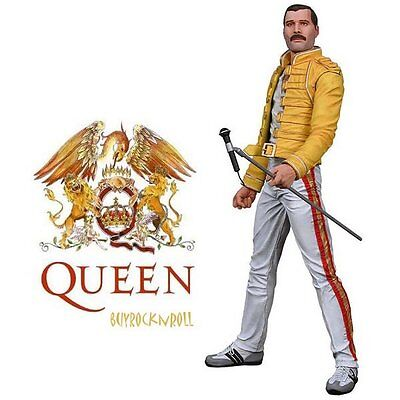 "Queen Collectible: 2006 NECA Freddie Mercury 18"" Motion Activated Sound Figure"