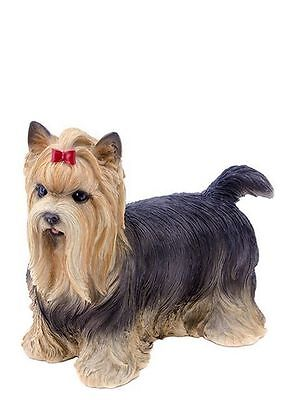 Dog - Yorkshire Terrier with Bow Statue