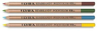 Lyra - Rembrandt Polycolor Colored Pencils, Set Of 24, Assorted Colors