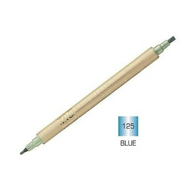 Zig - Memory System Calligraphy Marker Metallic Blue