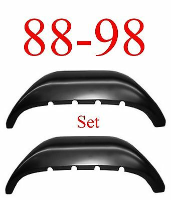 88 98 Inner Rear Wheel Arch SET, Rust Reapir, Chevy GMC Truck, 1.2MM Thick