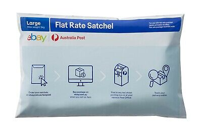Australia Post eBay Flat Rate Satchel 3kg (10 bag pk)