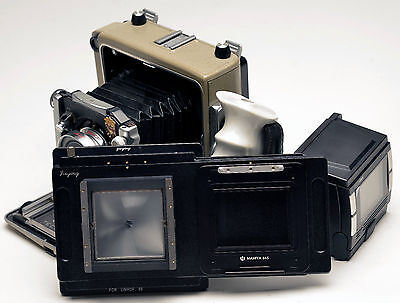 Moveable Adapter For Phase One Mamiya 645 Back To Linhof 6x9 W22