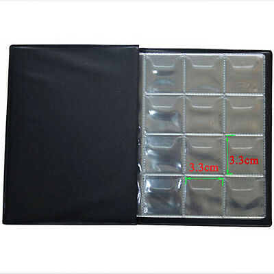 120 Coins Collection Holders Storage Money Penny Pocket Album Book Folder Hot