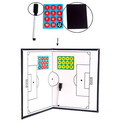 Soccer/Football Coaching Board Coaches Clipboard Dry Erase Marker 42 cm X 27 cm