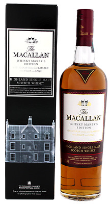 Macallan Whisky Makers Edition 1824 Collection Single Malt Whisky 0.7 L