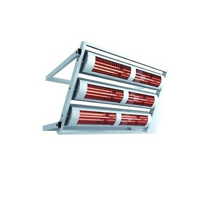 Heating Light solamagic 12000 Watt ECO IP24 with Ceiling Mount in Two Colours
