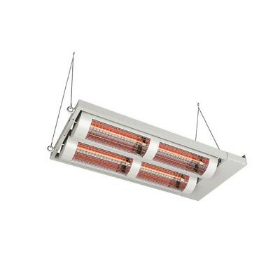 Heating Light solamagic 8000 Watt ECO IP24 with Ceiling Mount in Two Colours