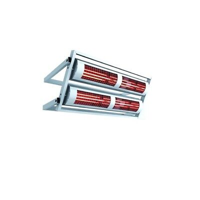 Heating Light solamagic 8000 Watt ECO IP24 with Wall Support in Two Colours